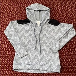 Light knit self esteem hoodie